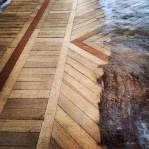 Sanding reveals hidden beauty