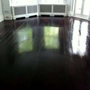 Wood Floor Staining