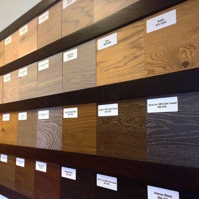 Colour range for our pre-fitted boards