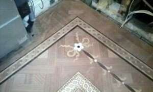 Intricate Wooden Flooring