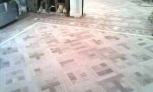 Patterned Wooden Floor
