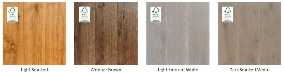 Hardwood Floor Colour Swatch 11