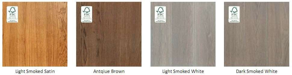Hardwood Floor Colour Swatch 5