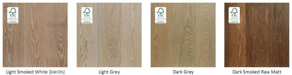 Hardwood Floor Colour Swatch 6