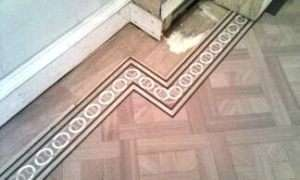 Wooden Floor Border