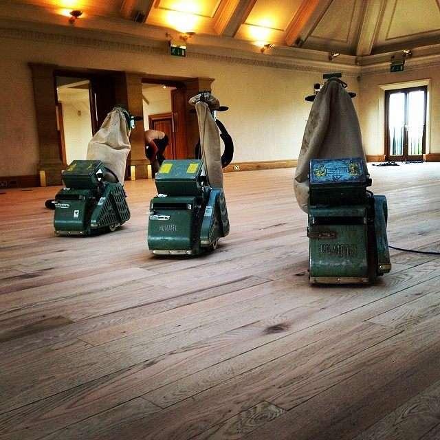 Floor Sanding Wood Floor Restoration Technique