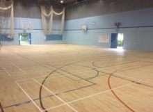 Merton School Floor Sanding for Sports Hall