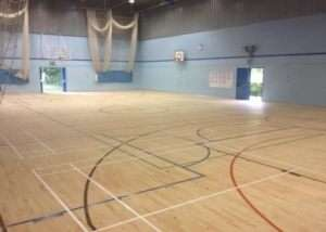 Merton School Floor Sanding for Sports Hall