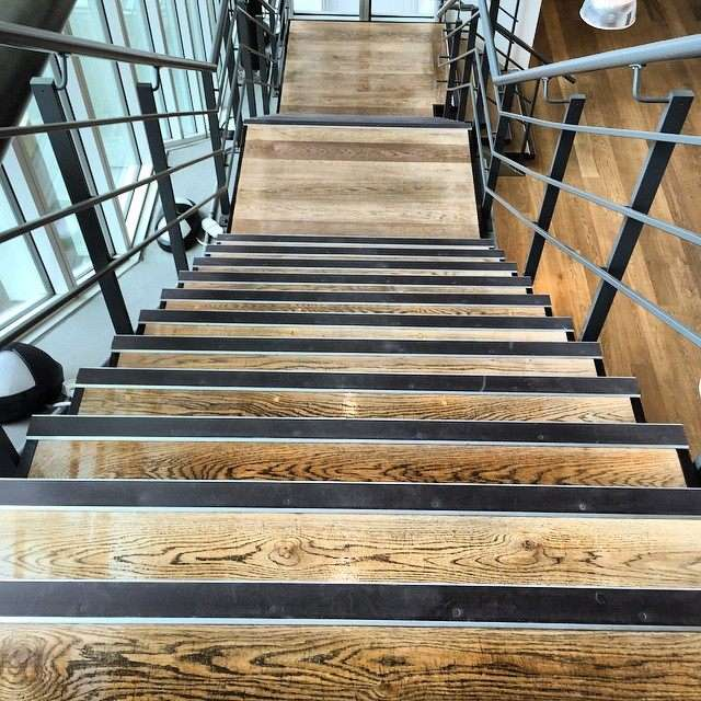 Wooden stairs fitting and restoration in london and essex for Wood floor restoration essex