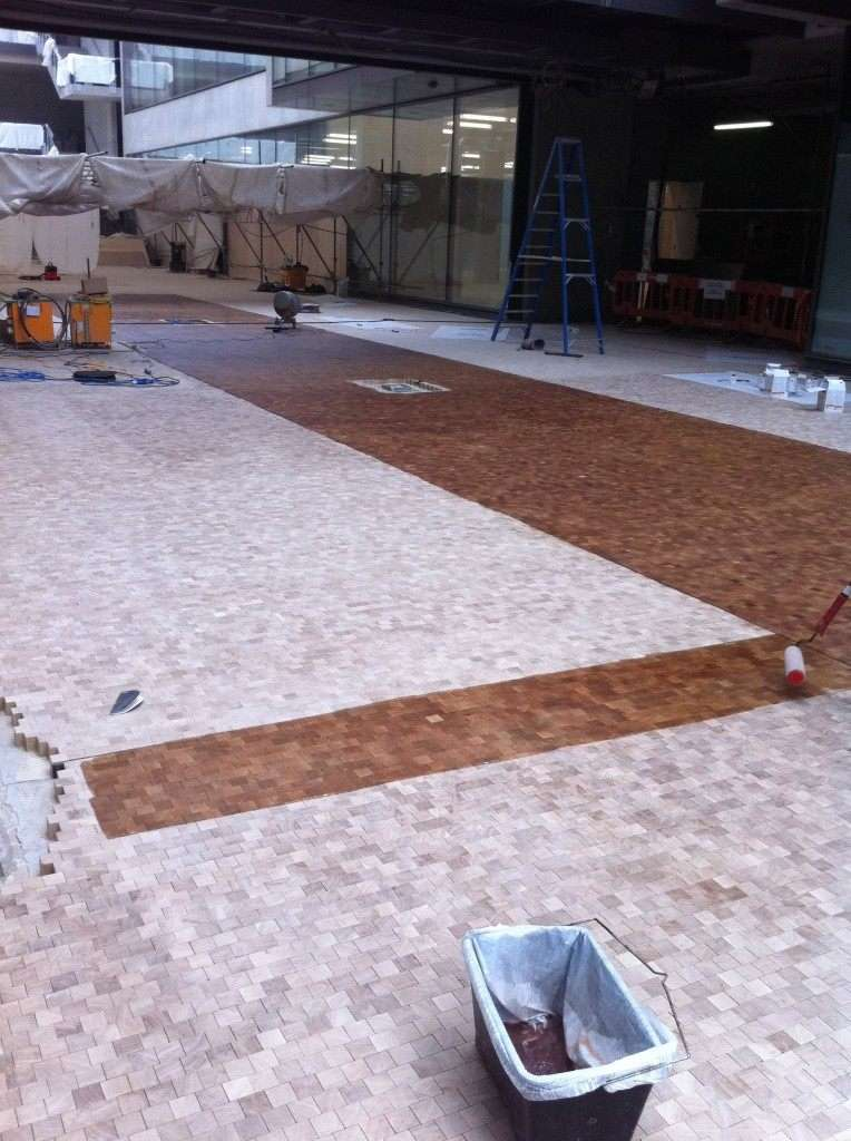Bam Construction Warehouse Floor Sanding