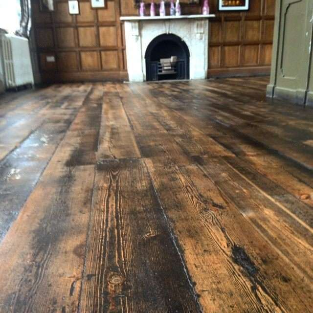 Wood Floor After Floor Sanding