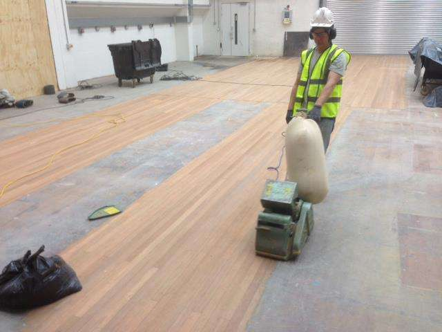 Theatre Floor Sanding at the National Theatre