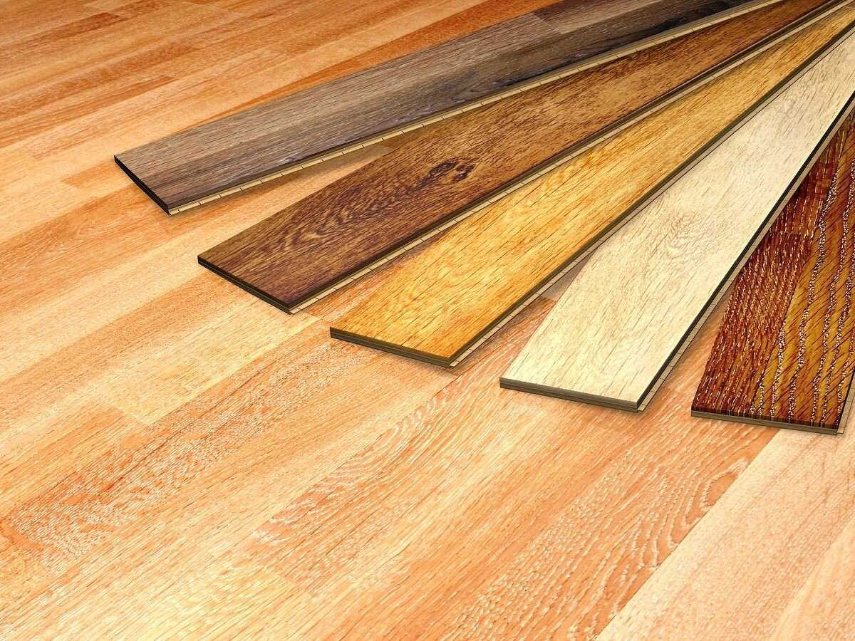 Wood floor colour