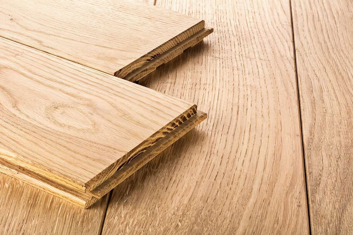 engineered wood flooring samples